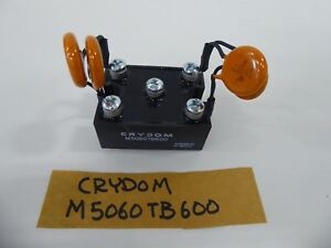 Crydom M5060tb600 Bridge Rectifier Diode With 4 103m Disc Capaciters