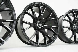 Black Hellcat Wheels Dodge Charger Challenger Chrysler 300 Srt Magnum 20 X 9 10