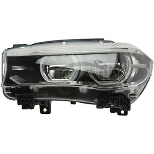 One New Marelli Headlight Assembly Left 710815029065 For Bmw X5 X6
