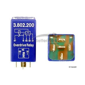 One New Kae Overdrive Relay 3802200 1259750 For Volvo 242 244 245 262 264 265