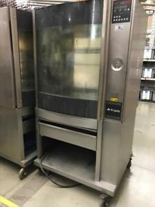 Fri jado Stg7 p Single Electric Rotisserie Chicken Meat Baking Pass thru Oven 6