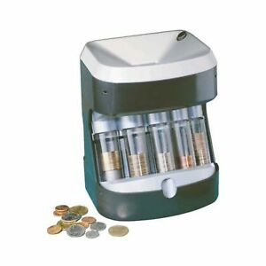 Automatic Coin Counter Sorter Machine Change Money Roller Battery Operated
