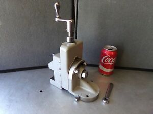 Atlas 10 12 Lathe Milling Attachment South Bend Type With Rare Atlas Mount