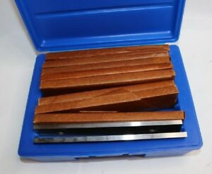 9 Pair 8 Inch Parallel Set 1 4 Thick 8ps9