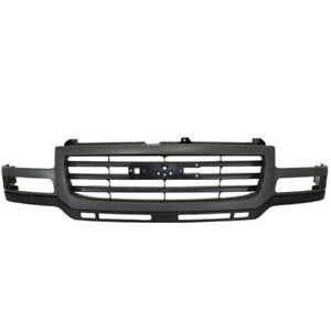 03 07 Sierra Pickup Truck Front Grill Grille Assembly Gray Gm1200627 19130794