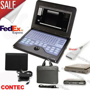 Usa Portable Cms600p2 Laptop Ultrasound Scanner Machine With 7 5mhz Linear Probe