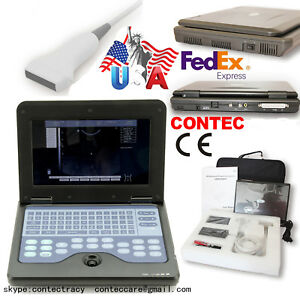 Usa Stock Cms600p2 Laptop Ultrasound Scanner Machine 7 5mhz Linear For Human