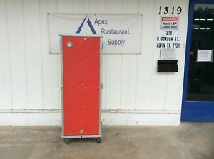 Cres cor Commercial Heated Cabinet Hot Box 120v W casters 3116
