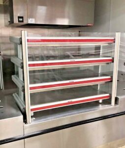 Hatco Pizza Warmer 3 Tier Hot Food Self Serve Packaged Merchandiser Gr2sdh 48t