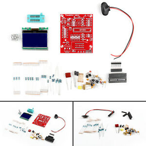 Diy M12864 Graphics Version Transistor Tester Kit Lcr Esr Pwm Encoder Switch