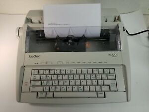 Brother Ml 100 Standard Electric Typewriter Tested Working