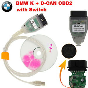 Bmw K D Can Obd2 Usb Auto Cable Ftdi Ft232rq Switch Bmw Tools Inpa Ediabas Ncs