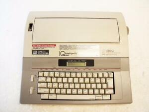 Smith Corona Typewriter Model Xd4900 Iq Electric Word Processor W ribbon Working