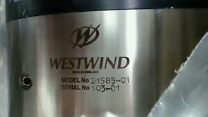 Grinding Spindle Mti Westwind Air Bearing Spindle D1583 01 For Strasbaugh