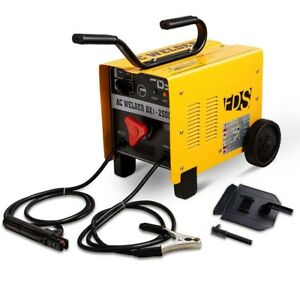 110v 220v Arc 250 Amp Welder Welding Machine Soldering Tools Portable W 2 Wheels