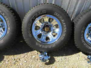 Ford Ranger 15 Inch Chrome Rims And Caps With Great Tires Explorer And More