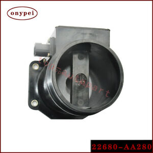 1x High Quality New Air Flow Meter 22680 aa280 Fits 96 98 Subaru Impreza Ej20g