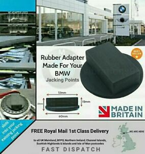 Bmw 1 2 3 4 5 Rubber Jacking Jack Pad Adapter Tool Sill Damage Protector Protect