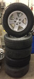 2007 2017 Jeep Wrangler 5 Oem Wheels And Tires used