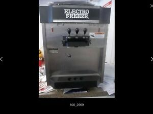 Electro Freeze Cs10 237 Sindle Phase 208 2 Flavor Ice Cream Machine