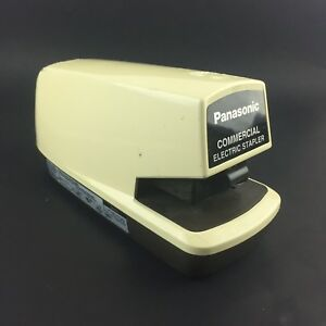 Panasonic As 300n Commercial Electric Stapler Tested Works 2a