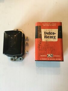 Nos Delco Remy Voltage Regulator 6volt 1954 1955 Gm 1118830