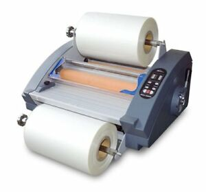 New Royal Sovereign Rsh 380sl 15 Inch Roll Laminator With De curler