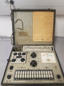 Jackson 648s Dynamic Tube Tester Power Tested Working Roll Chart