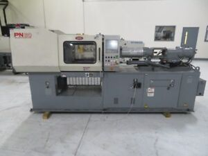 Nissei Used Ns40 5a Injection Molding Machine 44 Uston Yr 1998 1 17 Oz 8270