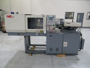 Nissei Used Ns40 5a Injection Molding Machine 44 Uston Yr 1998 2 18 Oz 8272