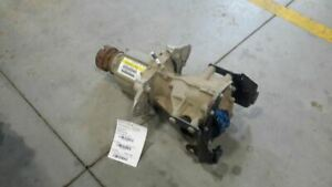 2011 Ford Explorer Rear Axle Differential 4x4