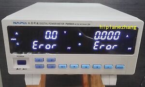 Trms Ac dc Voltage Current Freq Power Factor Active Power Meter Tester Alarm