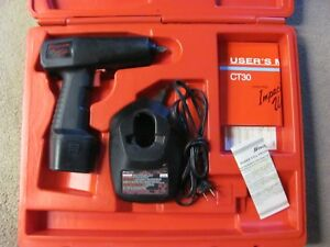 Snap on Tools Ct30 3 8 9 6v Pneumatic Impact Wrench W Battery