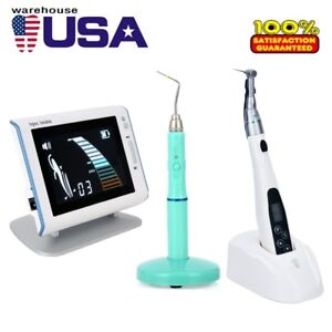 Dental Endo Motor Woodpecker Apex Locator Obturation System Endo Heated Pen