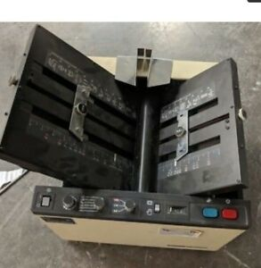 Nice Working Duplo D 590 Fully Automatic Heavy duty Tabletop Paper Folder