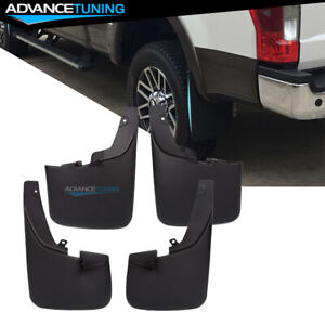 Fits 11 16 Ford F 250 F 350 Superduty With Fender Flares Mud Flaps Guards