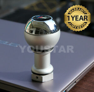 Usa Stock For Bmw 5 6 Speed Short Throw Weighted Chrome Manual Shift Gear Knob