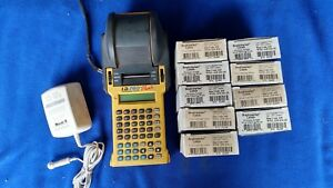 Brady I d Pro Plus Wire Marker Label Maker Printer With Extras