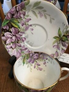 Royal Stafford Bone China Cup And Saucer Made In England