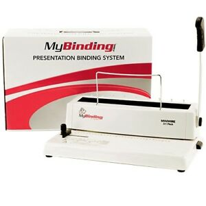 Miniwire Manual 3 1 Pitch Wire Binding Machine