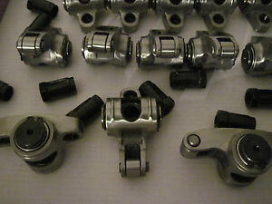 Srr16 Pontiac Stainless Steel Roller Rocker Arms 1 6 Ratio 7 16 Stud Mount