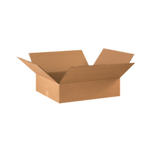 22x18x6 Shipping Boxes 20 Or 40 Pack Packing Mailing Moving Storage