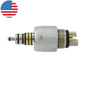 Usa Coxo Dental Fiber Optic Led Coupler For W h Roto Style High Speed Handpiece
