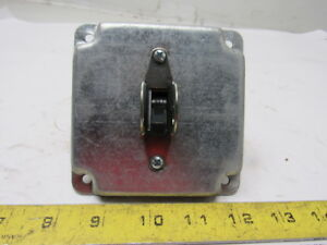 7803 600v 20hp 30a 3 Phase 6 Pole Main Motor Controller Switch