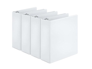 3 Ring Binder White Office School