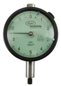 Dial Indicator 0 To 0 125 In 0 25 0 Mahr federal Inc 2015790