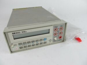 Agilent Hp 3478a Bench Digital Multimeter Dmm W Rack Mount Bracket