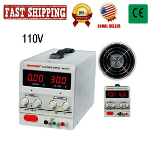 Adjustable Lab Dc Voltage Bench Switching Power Supply Ms 305d 0 30v 0 5a 150w