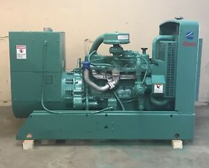 35 Kw Cummins Generator Nat Gas Propane 35ek 12 Lead Reconnectable 1 3 Phase