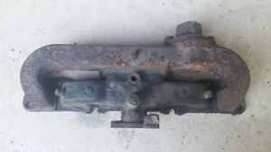 Continental F 162 Intake Exhaust Fork Lift Tractor 4 Cylinder Flathead Manifold